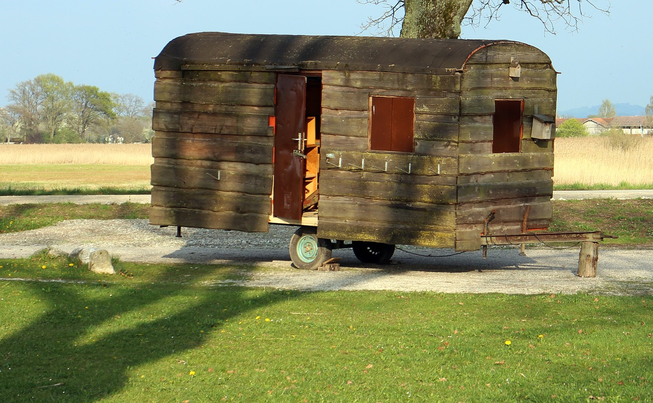 Starý mobilní dům