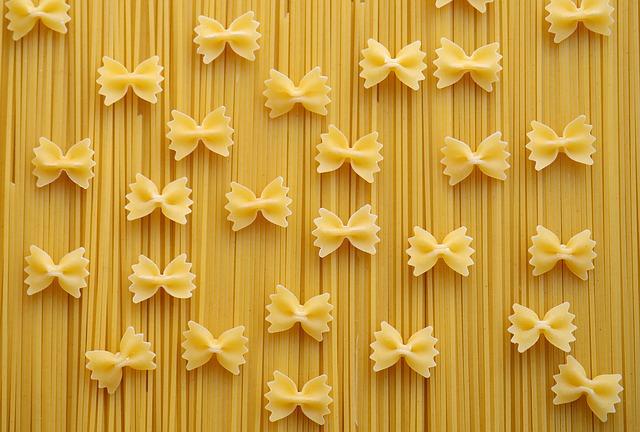 mašle a špagety